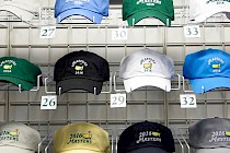 2016 Masters caps in the shop
